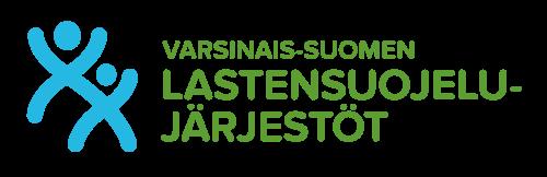 Varsinais-Suomen Lastensuojelujärjestöt -logo.